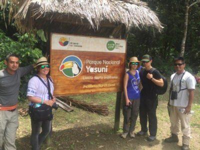 open tour to yasuni